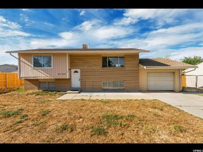 West Jordan Single Family Home Backup: 2786 W 7550 S