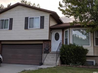 West Jordan Single Family Home Under Contract: 1348 W 8605 S