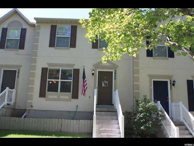 Eagle Mountain Townhouse For Sale: 3435 E Peregrine Rd N