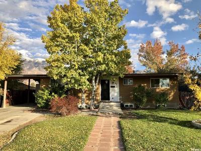 Orem Single Family Home For Sale: 63 S Sage Dr