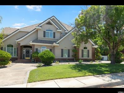 St. George Single Family Home For Sale: 1652 Boulder Rd