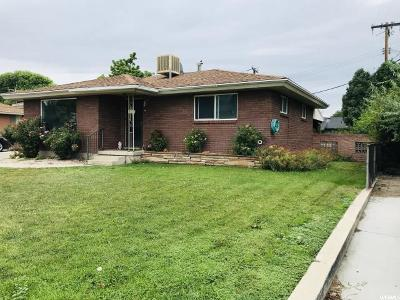 Midvale Single Family Home For Sale: 8142 S Roosevelt St