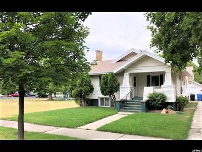 Logan UT Single Family Home For Sale: $244,500