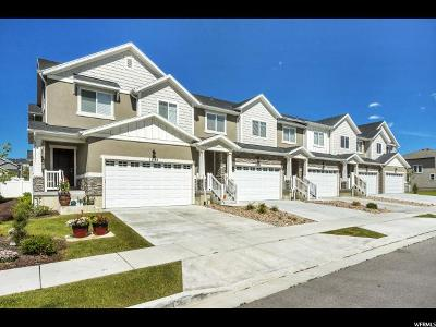 Riverton Townhouse For Sale: 13104 S Tower Ridge Dr W