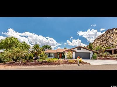 St. George Single Family Home Under Contract: 1417 La Sal Cir