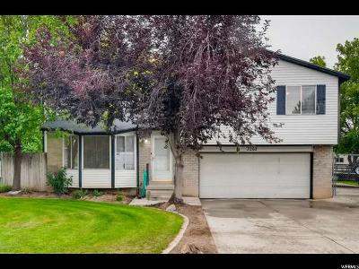 West Jordan Single Family Home For Sale: 3262 W 6920 S