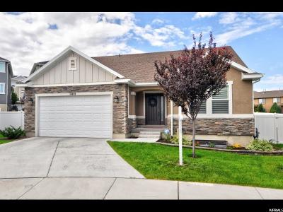 Herriman Single Family Home Under Contract: 14488 S Chrome Rd