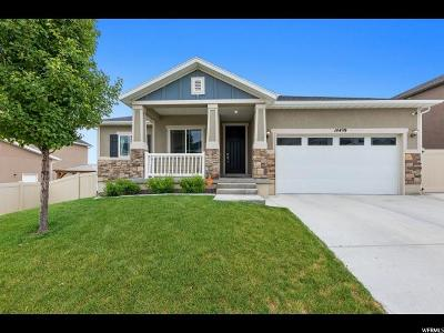 Herriman Single Family Home Under Contract: 14499 River Chase Rd