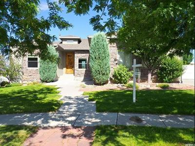 Herriman Single Family Home For Sale: 14353 S Springheather Cir W