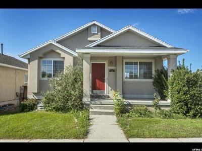 Draper Single Family Home Under Contract: 332 W Inauguration Rd S