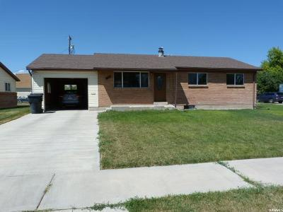 Tremonton Single Family Home For Sale: 120 W 665 S