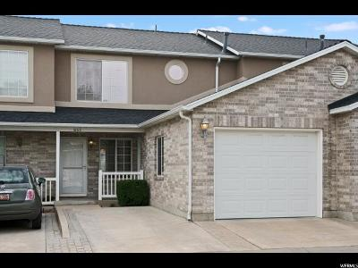Bountiful Townhouse For Sale: 1668 N Aliwood Way W