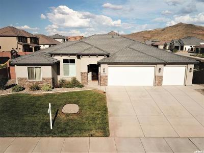 St. George Single Family Home For Sale: 6259 Awestruck Way