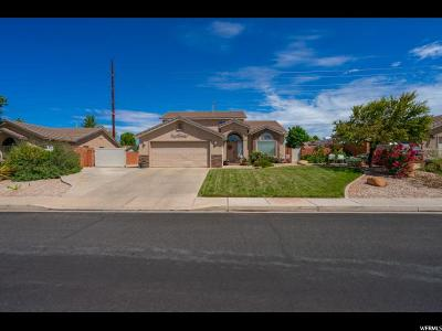 St. George Single Family Home For Sale: 1536 W 1370 N