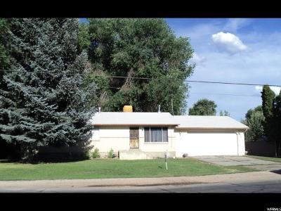 Wasatch County Single Family Home For Sale: 446 N 100 West W