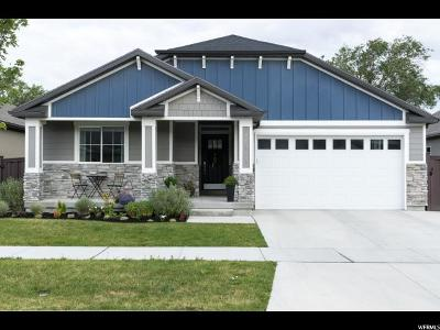 Bluffdale Single Family Home Under Contract: 14878 S Slick Horn Cv