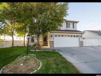 Tooele County Single Family Home Under Contract: 39 E Strasbourg Ln