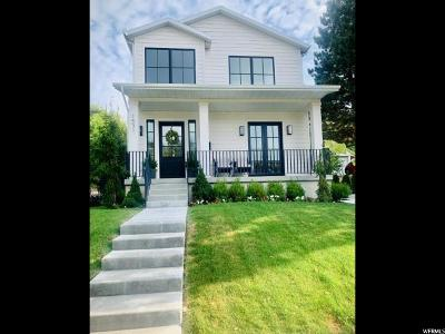 Salt Lake County Single Family Home Under Contract: 1531 E Kensington Ave S