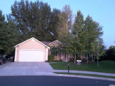Provo Single Family Home Under Contract: 414 E 3250 N