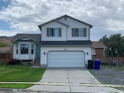Tooele County Single Family Home For Sale: 801 W 740 S