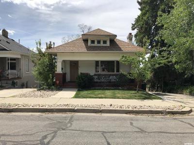 Salt Lake City Single Family Home For Sale: 518 E 9 Th Ave