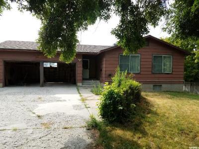 Logan UT Single Family Home For Sale: $275,000