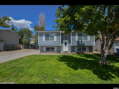 Salt Lake City Single Family Home Under Contract: 5756 W Middlewood Ave