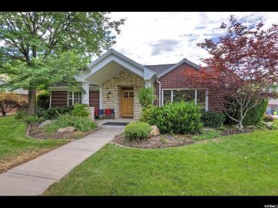Sugar House Single Family Home For Sale: 2200 S 2200 E