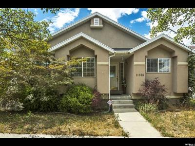 Draper Single Family Home Under Contract: 11886 S Inauguration Rd