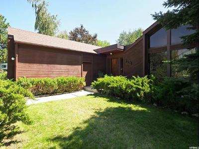 Sandy Single Family Home Backup: 3276 E Alta Hills Dr S