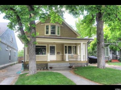 Salt Lake City Single Family Home For Sale: 129 N F St