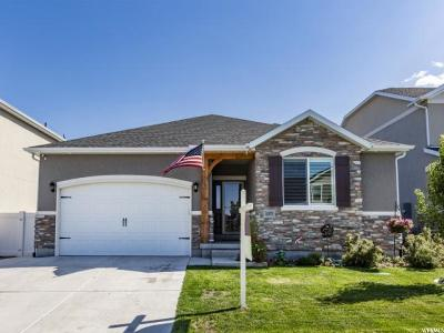 Herriman Single Family Home For Sale: 5377 W Ironking Dr. S