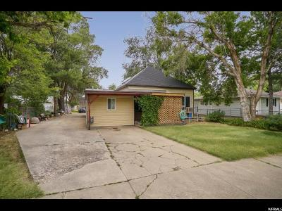 Weber County Single Family Home Under Contract: 2153 Jackson Ave