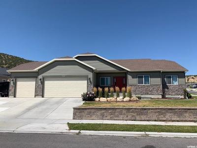 Eagle Mountain Single Family Home For Sale: 7199 S Golden Ridge Dr