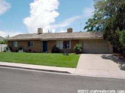 Orem Single Family Home For Sale: 725 W 630 S