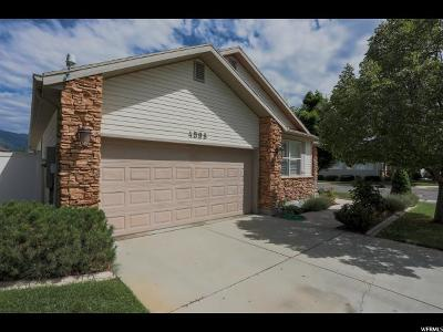 Weber County Single Family Home For Sale: 4598 S Blossom Glen Way