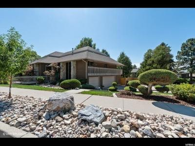 Cottonwood Heights Single Family Home For Sale: 8480 S Top Of The World Dr E