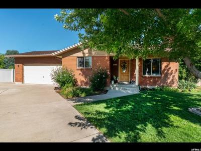 Roy Single Family Home Under Contract: 2046 W 5025 S