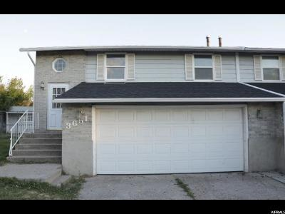 Roy Single Family Home Under Contract: 3651 W 4625 S
