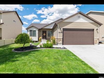 Eagle Mountain Single Family Home For Sale: 2439 E Ox Yoke Dr
