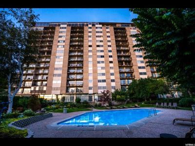 Salt Lake City Condo For Sale: 875 S Donner Way #1003
