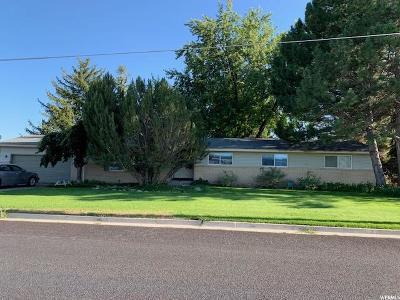 Preston Single Family Home For Sale: 83 W 800 S