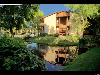 Cottonwood Heights Condo Under Contract: 1081 E Countrywoods Cir #21H