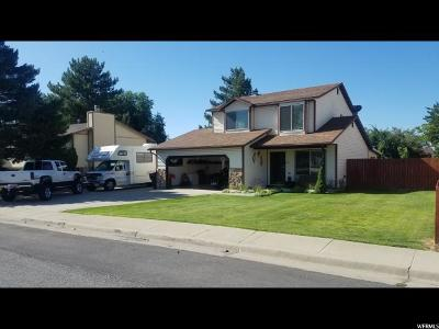 Tooele County Single Family Home Under Contract: 530 Ontario St