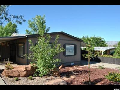 St. George Single Family Home For Sale: 2021 W 1525 N