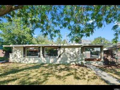 Provo Single Family Home For Sale: 1620 N 1350 W