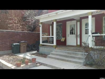 Salt Lake City Multi Family Home Under Contract: 830 E Chase Ave S