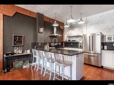 Salt Lake County Condo For Sale: 327 W 200 S #207