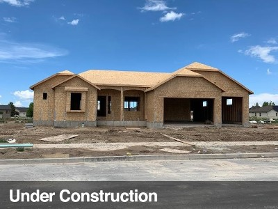 Tooele County Single Family Home Under Contract: 727 E Clover Gate Ln #105