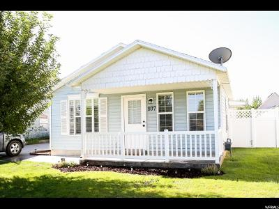 Spanish Fork Single Family Home Under Contract: 807 W 250 N
